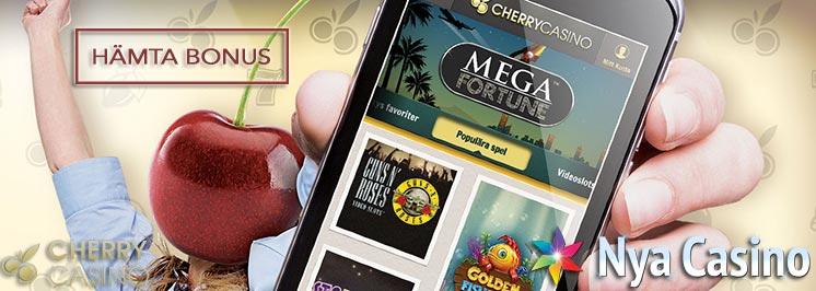 cherry casino nya casino bonus free spins