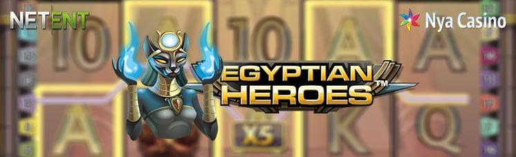 egyptian heroes spelautomat