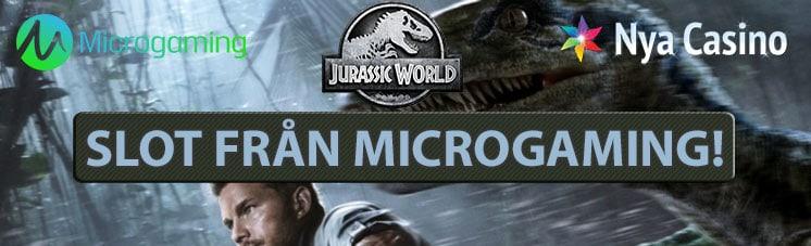 jurassic world spelautomat