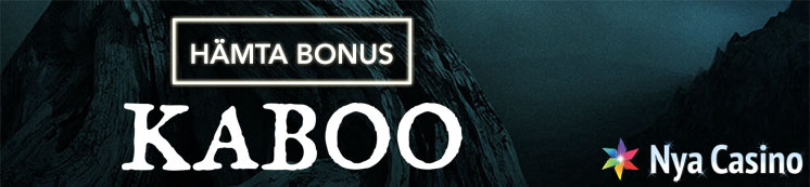 kaboo bonus free spins nya casino